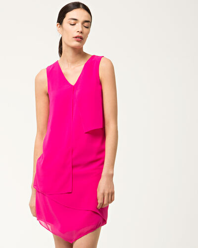 Fabienne frilly fuchsia dress (1) - 1-2-3