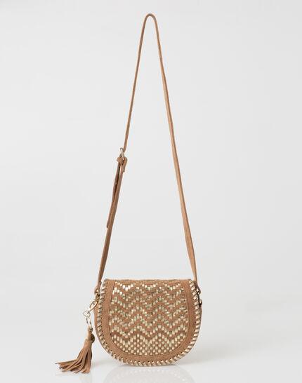 Pedro camel velour bag (2) - 1-2-3