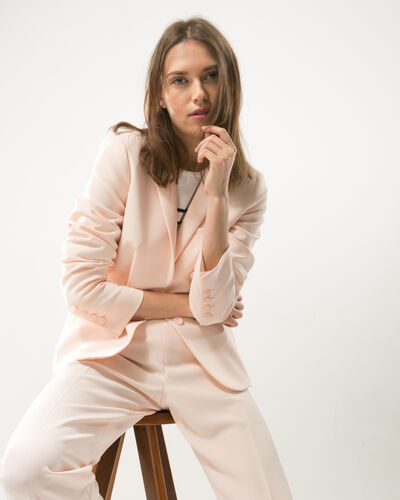 Eve powder pink tailored jacket (2) - 1-2-3
