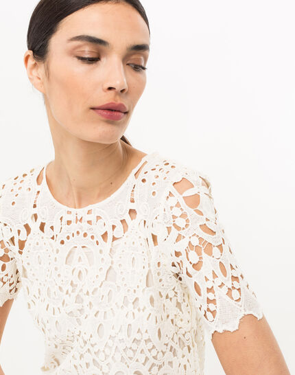 Bergamote cream lace dress (5) - 1-2-3