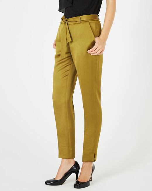 Pantalon brillant vert olive Volt (1) - 1-2-3