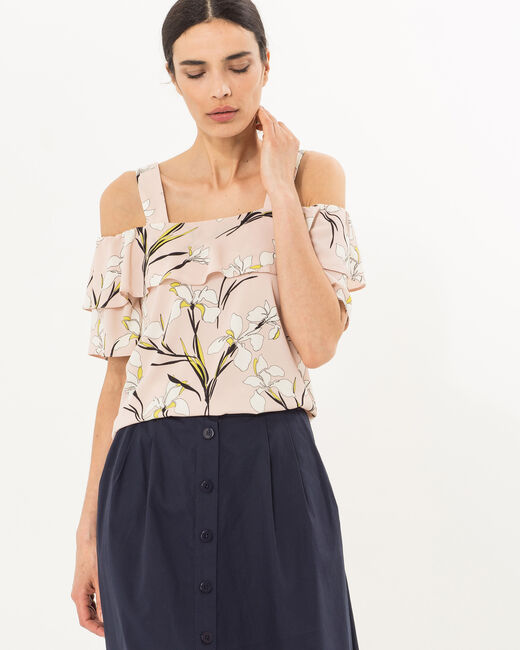 Emerine pale pink printed top (1) - 1-2-3