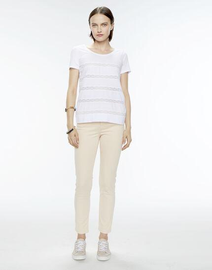 Nori striped white T-shirt (5) - 1-2-3