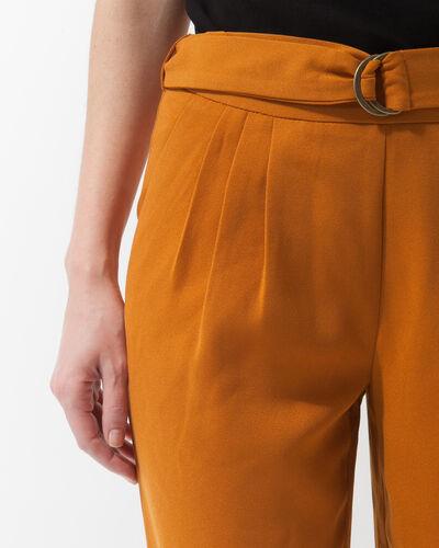 Pantalon ocre coupe carotte Douguy (1) - 1-2-3