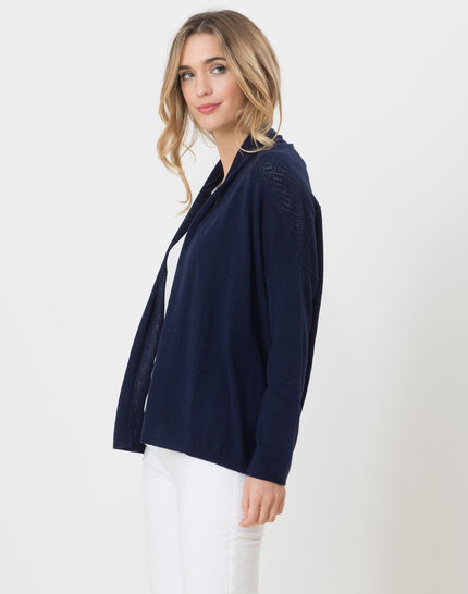 Humbrella navy blue cardigan (3) - 1-2-3