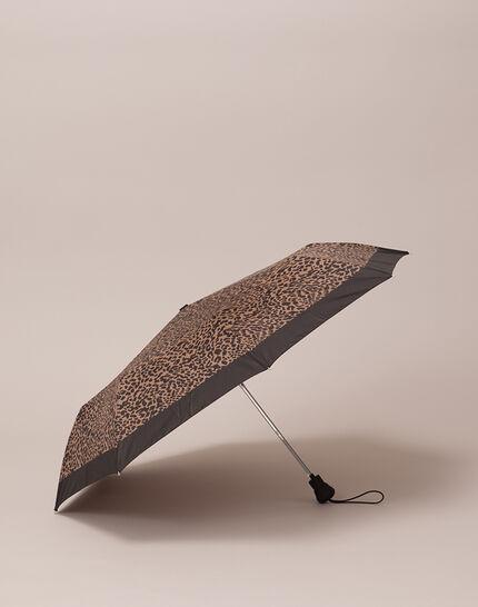 Rain leopard print umbrella (2) - 1-2-3