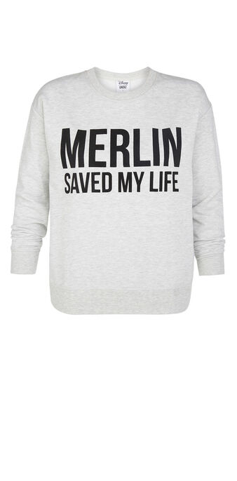 Sweat gris merliz grey.