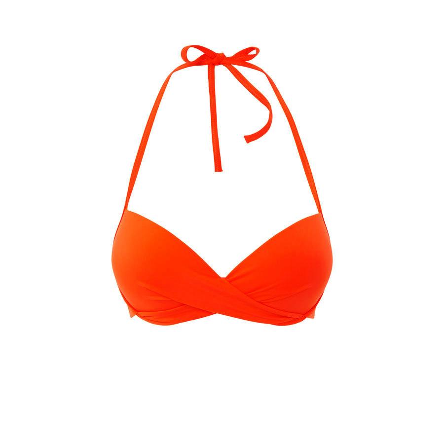 haut de maillot de bain orange twistiz undiz. Black Bedroom Furniture Sets. Home Design Ideas