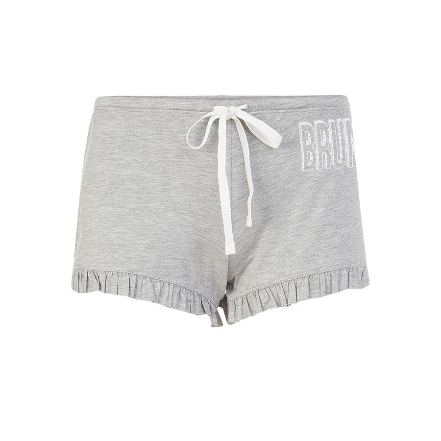 Sobruniz light grey shorts;${refinementColor}