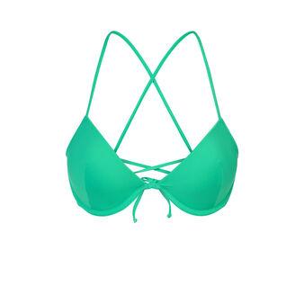 Haut de maillot de bain vert alohiz green.