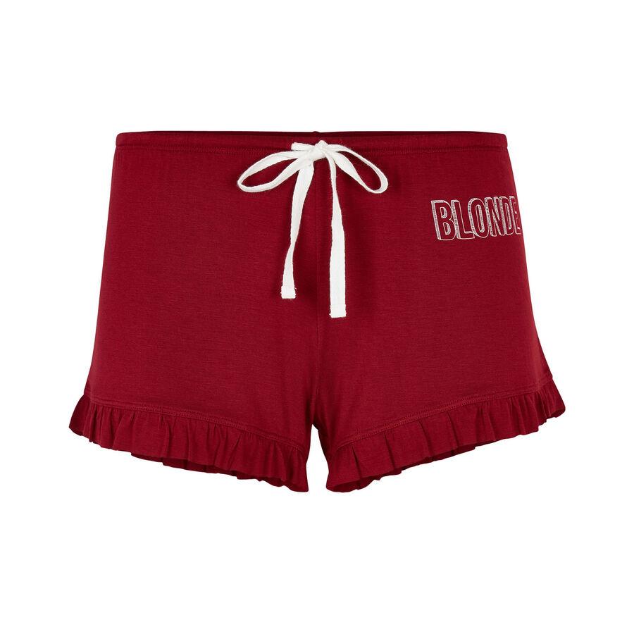 Short rouge soblondiz;${refinementColor}