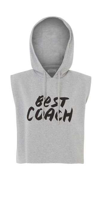 Moyaiz grey sports sweatshirt grey.
