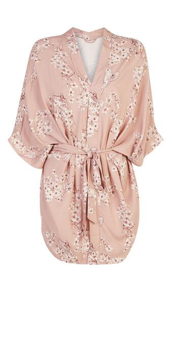 Oblissiz light pink kimono pink.