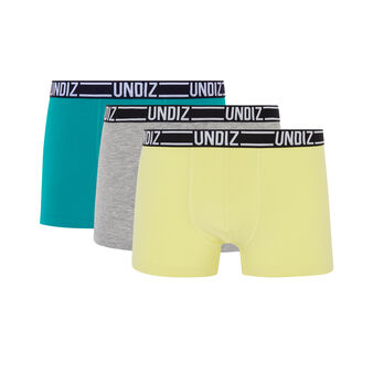 Set of bleuiz boxer shorts green.