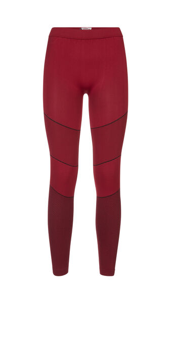 Strongiz red sports leggings red.