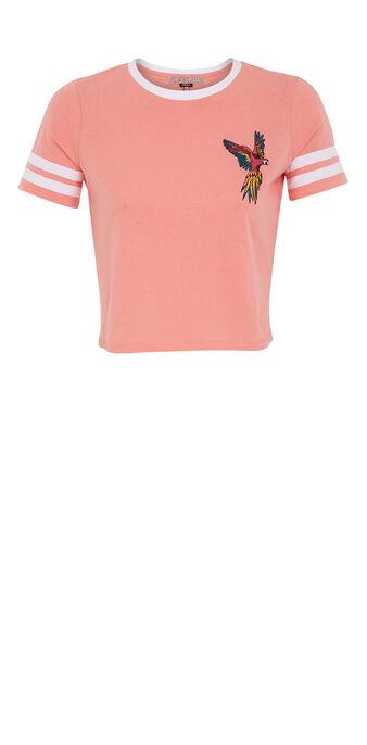 Top court rose aratiz pink.