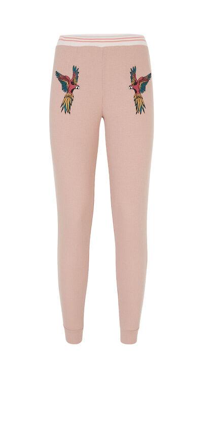 Aratiz pale pink trousers;${refinementColor}