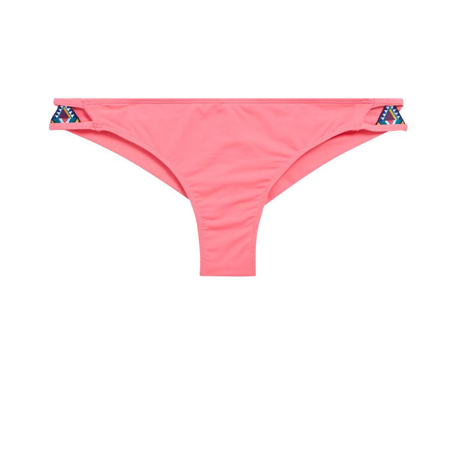 Daiquiriz pink bikini bottoms;${refinementColor}
