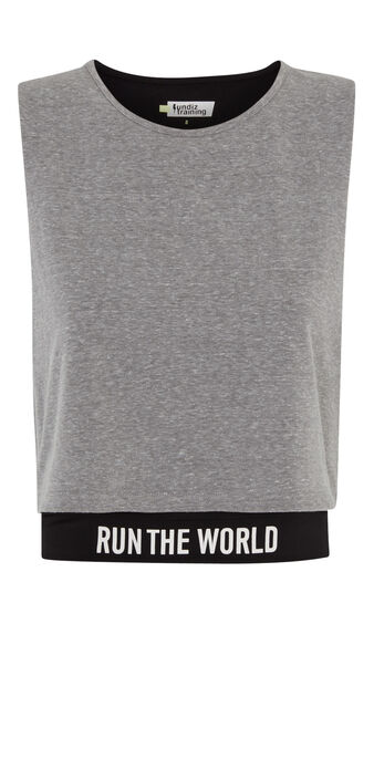 Top gris worldiz grey.