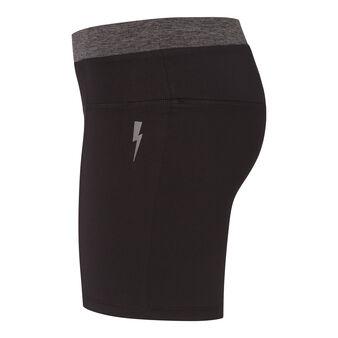Atletiz light black sports shorts black.