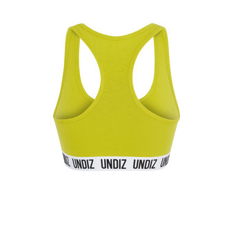 Sportiviz yellow bra yellow.