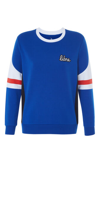 Sweat bleu colorbiz blue.