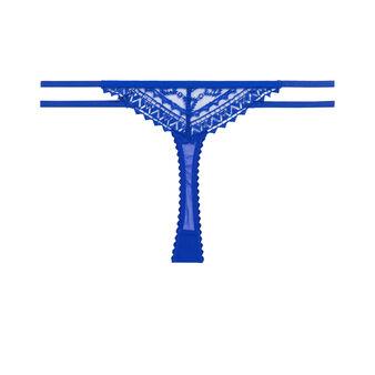 Clemtiz blue thong blue.