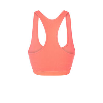Sharapoviz pink sports top orange.