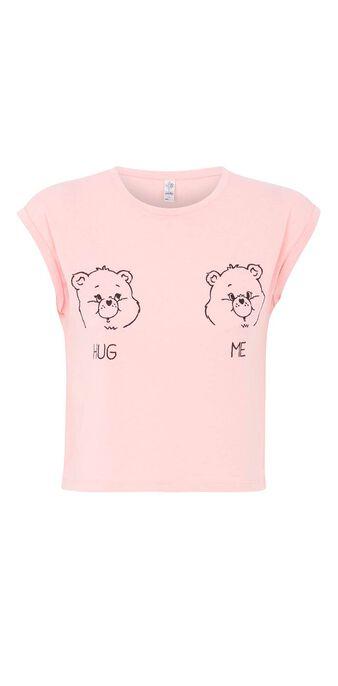Top gris hugmiz pink.