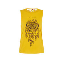 Top jaune dreamcatchiz yellow.