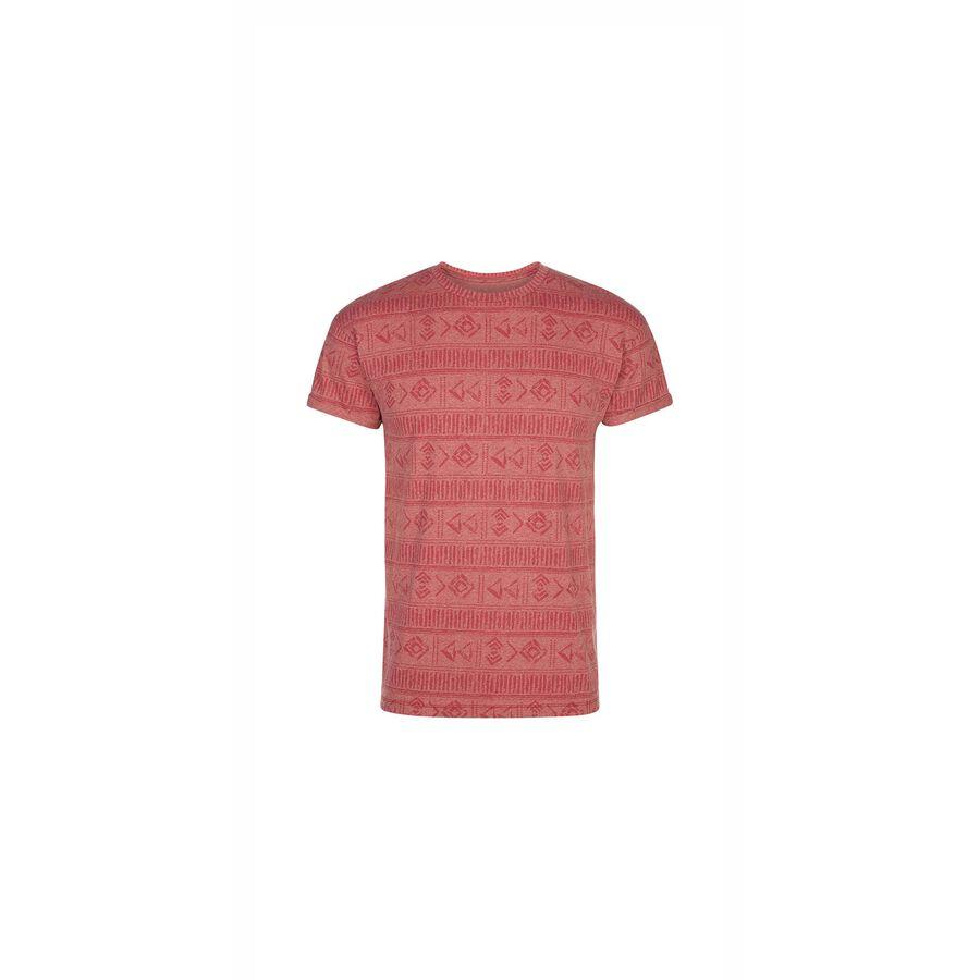 T-shirt red brique afromiz ;${refinementColor}