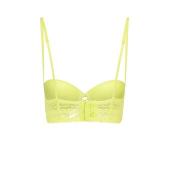 Soutien gorge bustier jaune boardiz laciz green.