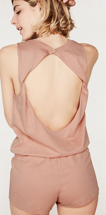 Polochiz pink playsuit pink.