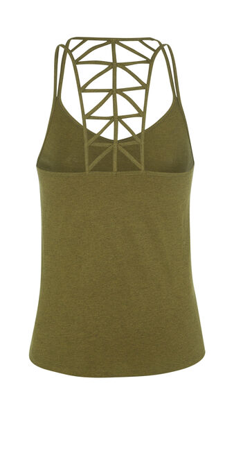 Arianiz khaki green top green.
