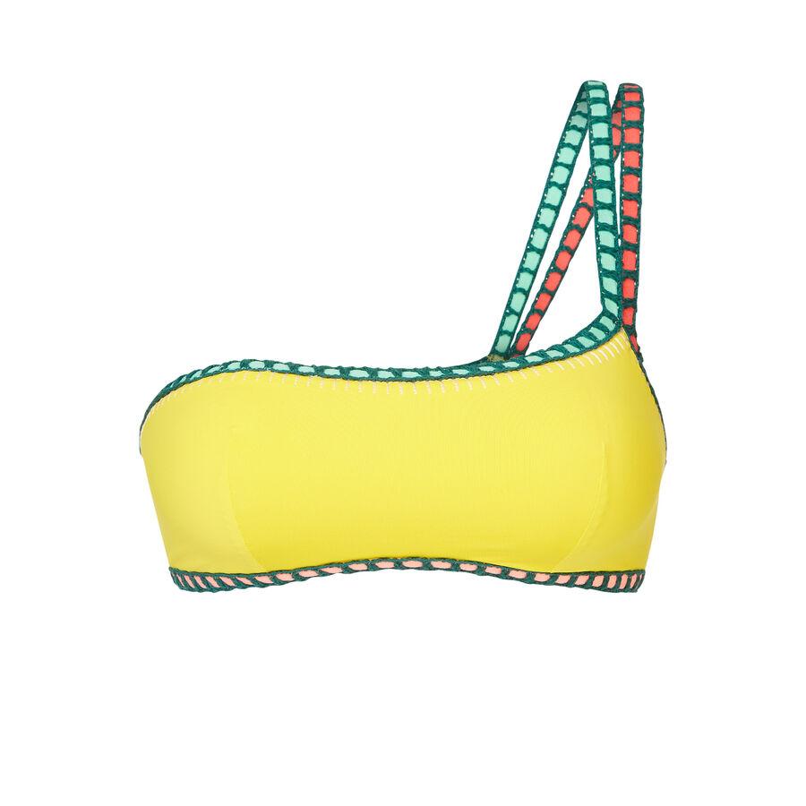 Asykiniz yellow bikini top;${refinementColor}