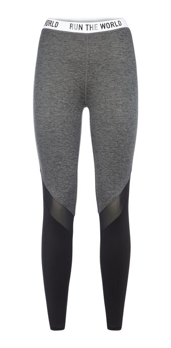 Legging de sport noir worldiz black.