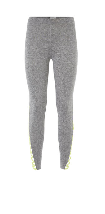 Legging de sport gris clair new aguileriz grey.