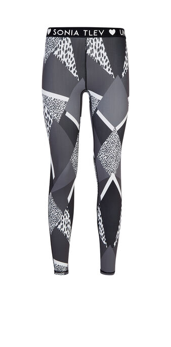 Legging de sport noir patchiz black.