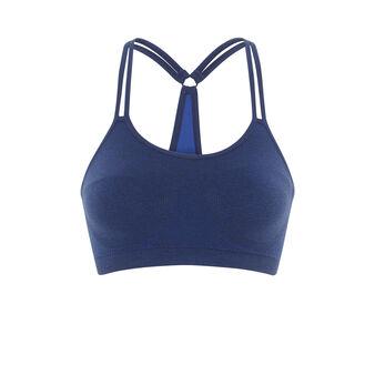 Brassière de sport bleu foncé new swimmiz blue.