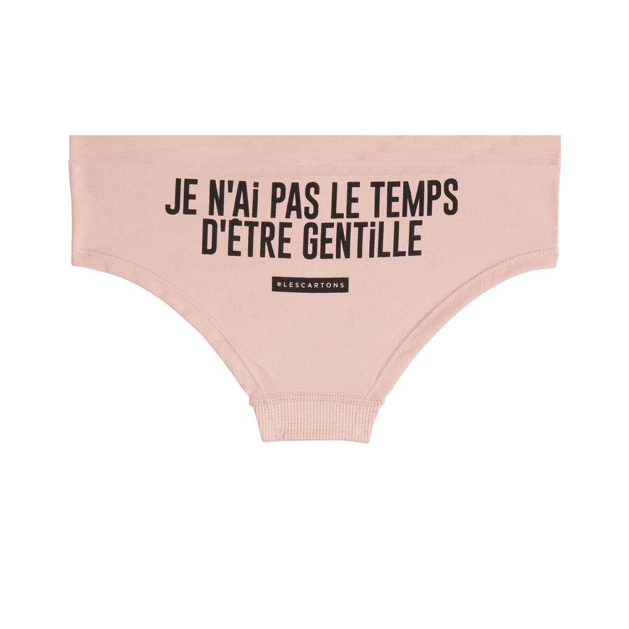Gentilliz pink underwear;${refinementColor}