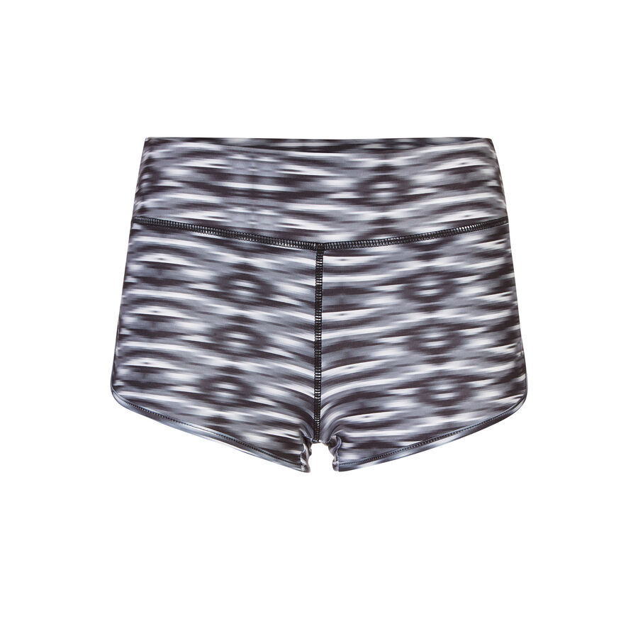Asteriz black sports shorts;${refinementColor}