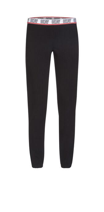 Pantalon noir okabiz black.