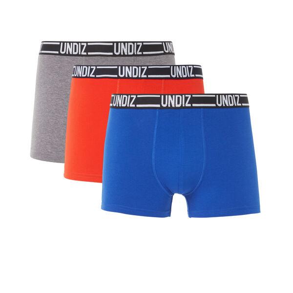 Lot de trois boxers bleuiz;${refinementColor}