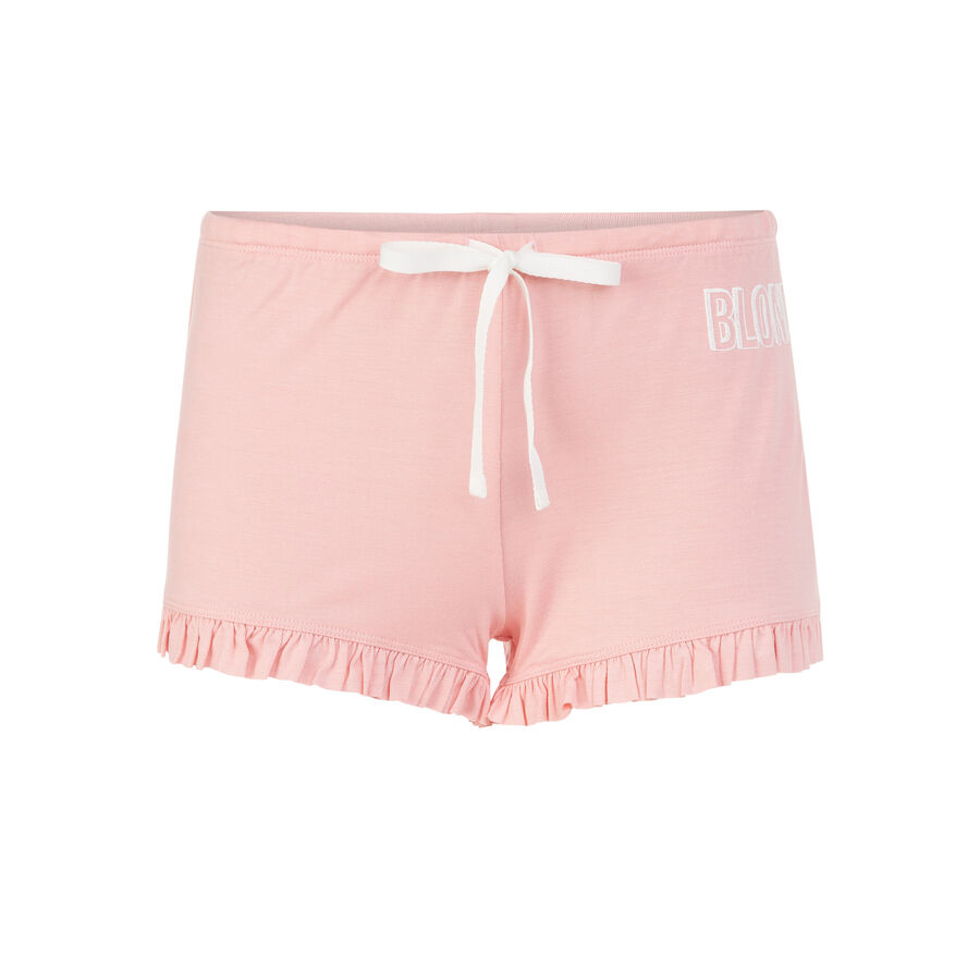 Soblondiz pink shorts;${refinementColor}