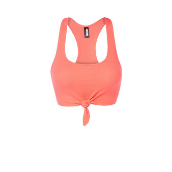 Top de sport rose sharapoviz orange.