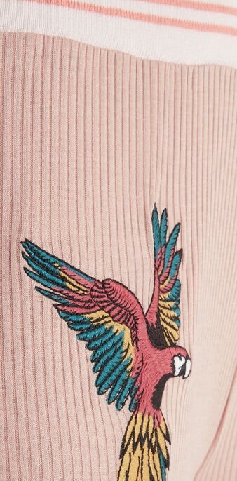 Pantalon rose pâle aratiz pink.