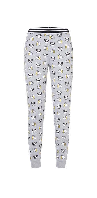 Pantalon gris clair grolaziz grey.