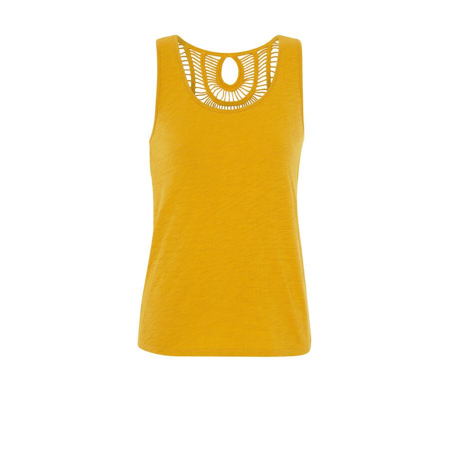 Top jaune backjoliz;${refinementColor}