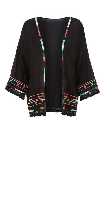 Kimono noir antidotiz black.