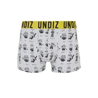 Allmiz light grey boxer shorts grey.